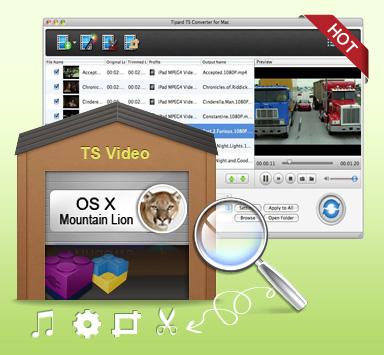 Meilleur Vidéo Converter & vidéos montage pour Mac