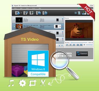 Best TS Converter- Convert TS video to MP4/AVI/WMV/MKV/MOD